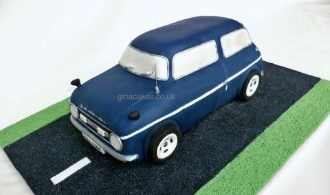 Austin Mini Car Cake