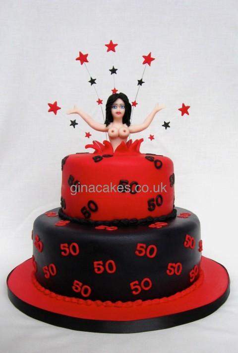 Female Stripper Cake