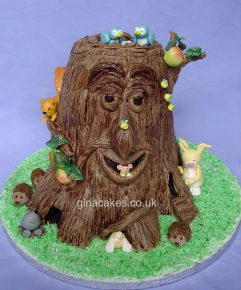 Greenman Tree Cake