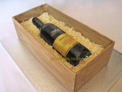 Wolfblass Wine Bottle Cake