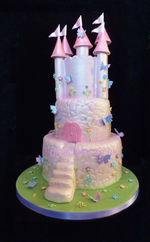 Fairytale Castle Cake