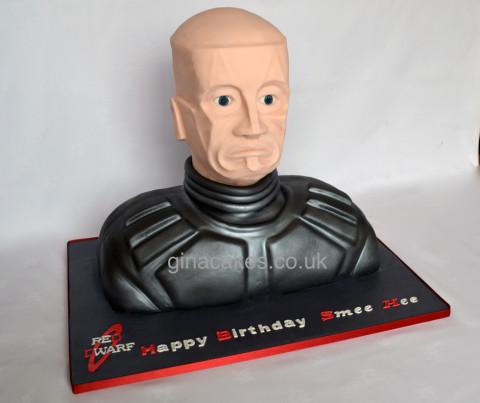Kryten Cake - Red Dwarf