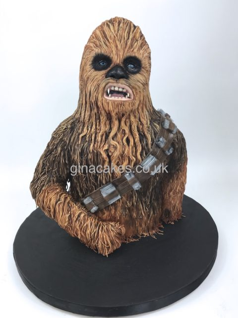 Star Wars Chewbacca 'Chewy' Cake